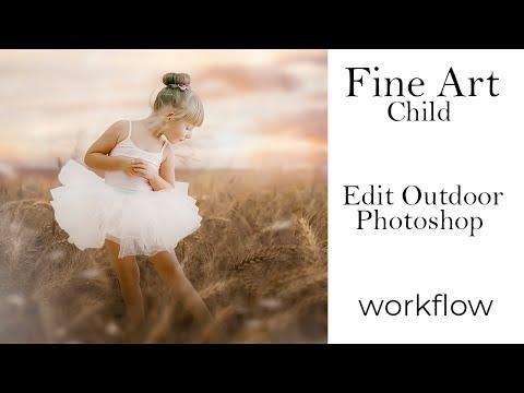 Fine Art Child   Edit Outdoor Photoshop