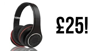BEST BLUETOOTH HEADPHONES UNDER £25 ($35) - PSYC Wave S1 Review