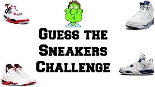 Guess The Sneakers Challenge *(Vomit Warning)*