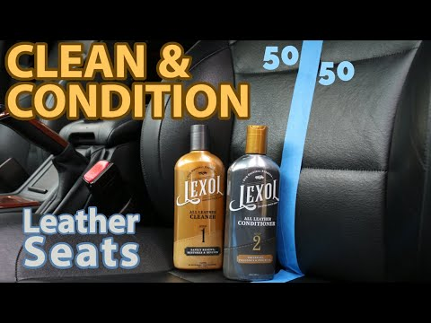 CLEAN & CONDITION Leather Seats with Lexol | E39 M5
