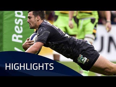 ASM Clermont Auvergne v Northampton Saints (P2) - Highlights – 21.10.2017