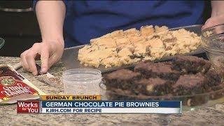 Sunday Brunch:  Natalie's German Chocolate Pie Brownies Part Ii