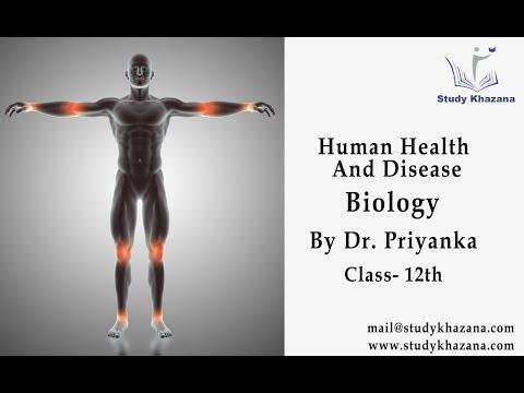 Human Health and Disease - class 12 | Biology  | Dr. Priyanka | Study Khazana thumbnail