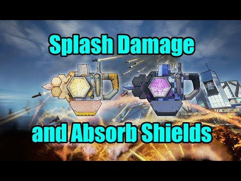 Splash Damage and Absorb Shields (and more weird mechanics)
