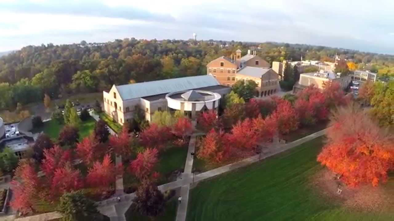 Franciscan University Campus Map.Heavenly View Of Our Beautiful Hilltop Campus Franciscan
