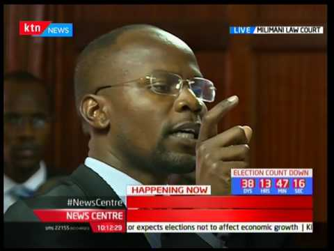 Ballot Printing Case: The court to give NASA and IEBC the final verdict
