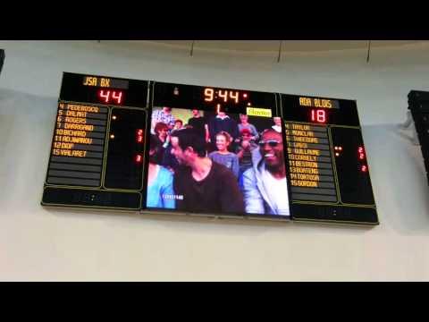Palais des Sports de Bordeaux écran LED Bodet