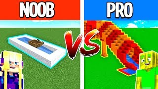 NOOB vs. PRO WASSERRUTSCHE in MINECRAFT?!