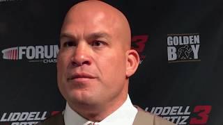 TITO ORTIZ  TALKS UFC & SAYS CANELO KO'S GOLOVKIN IN THE 8