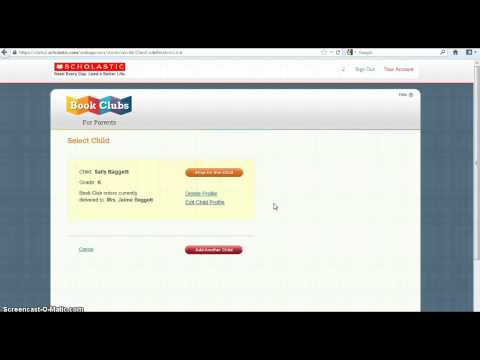 How to order books from Scholastic Books