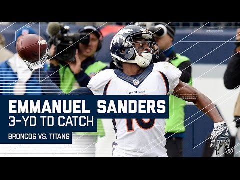 Trevor Siemian Hits Demaryius Thomas for Big Gain & Sanders