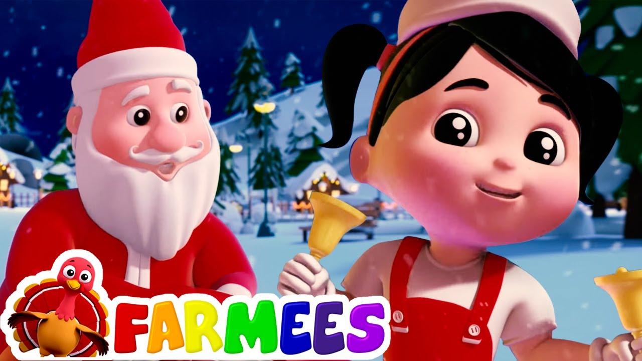 Jingle Bells | Rimas de natal | Musica infantil portuguesa | Farmees | Desenhos animado