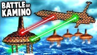 Star Wars BATTLE of KAMINO!  Capital Ships (Forts Star Wars Mods)