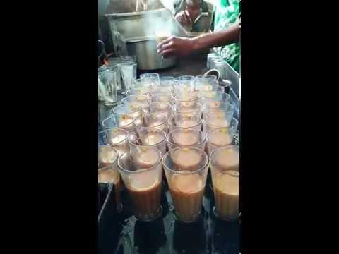 South India Tea Stall at Kuppam, Andhra Pradesh