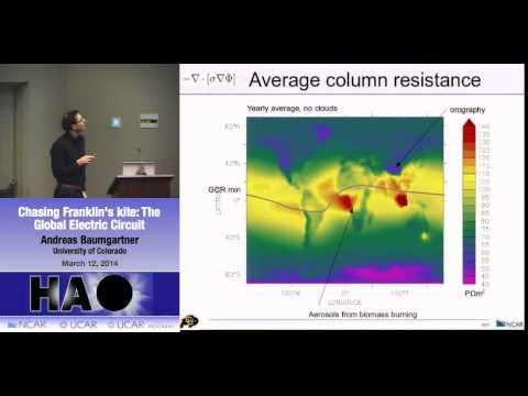 Andreas Baumgartner | Univ Colorado | Chasing Franklin's kite: The Global Electric Circuit