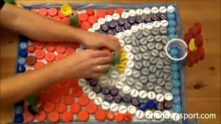 Mainan Edukatif Dari Tutup Botol Plastik