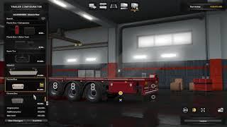 Euro Truck Simulator 2 v1.32 Trailer Ownership - Flatbed Customization
