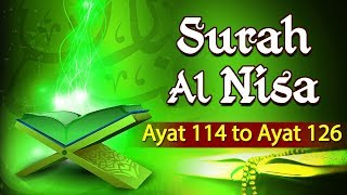 tafseer-e-quran-surah-al-nisa-ayat-114-to-126-maulana-khalid-saifullah-shemaroo-ibaadat