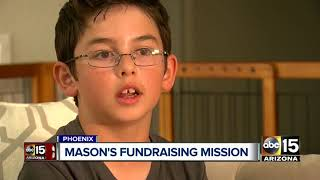Phoenix boy starts fundraiser after losing brother to heart disease