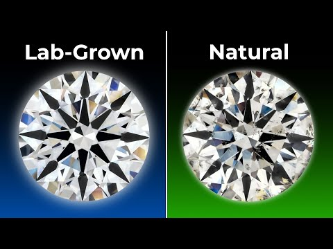 Lab Grown Diamonds vs. Natural Diamonds - Quality Size and Price Comparison