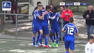 EnBW-Oberliga B-Junioren: Karlsruher SC U16 - SSV Ulm 1846 Fussball