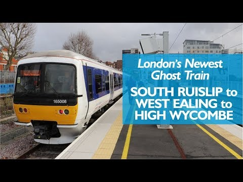 London's Newest Ghost Train : South Ruislip to West Ealing