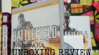 Battlefield 4 Launch Edition China Rising Expansion Pack - Unboxing Review PC