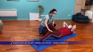 Yvelines | Exercices de sport après les fêtes : mode d'emploi