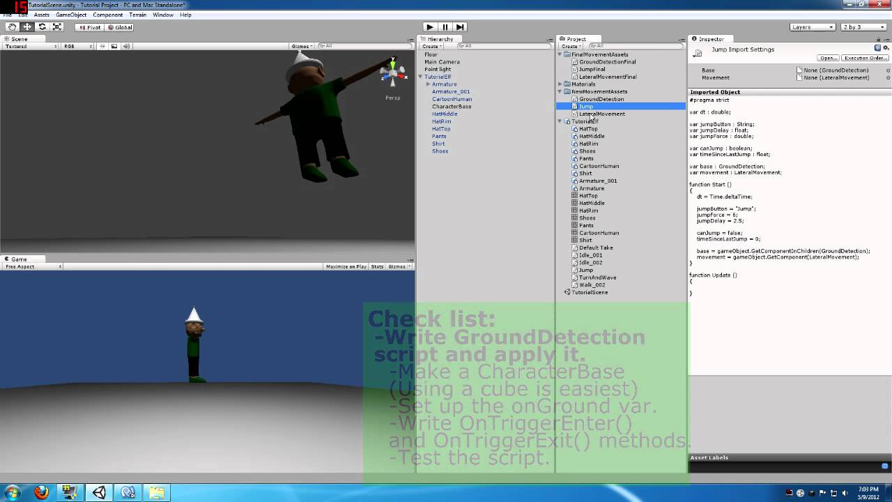 Unity Character Design Tutorial : Unity d character movement and animation tutorial youtube