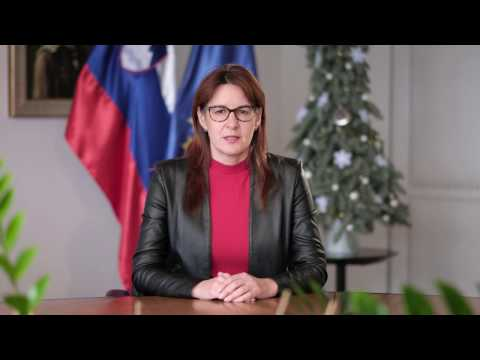Predpraznično voščilo ministrice za obrambo Andreje Katič