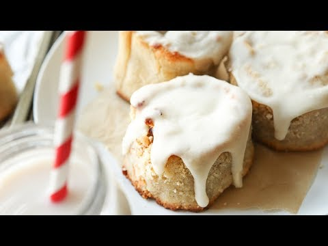 KETO Cinnamon Rolls Recipe | Low Carb FatHead Cinnamon Rolls With Coconut Flour | Easy KETO Recipes