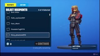 Fortnite Season X Livestream Giveaway And Comments Giveaway Winners, Gave Away 2 Gutbomb Skins