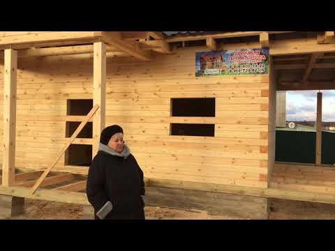 Отзыв о ЭкоХат. Деревянные дома из бруса из Костромы