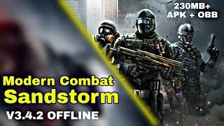 Modern Combat Sandstorm v3.4.2 APK + OBB | (OFFLINE)