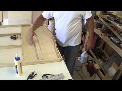 how to make a headboard for a girl tutorial part 2 the making.