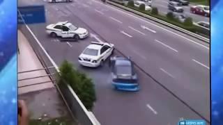 Приколы над гаишниками Подборка приколов на дороге  ГАИСмешные моменты