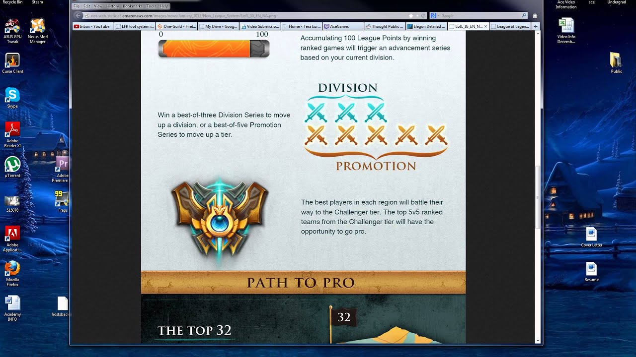 how to jump rank in lol
