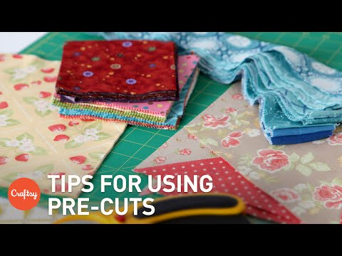 Tips for Quilting With Pre-Cuts | Quilting FAQs with Debbie Caffrey