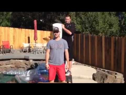 ALS Ice Bucket Challenge by Kyle Mauch of Athletes Brand