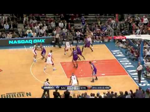 Kings vs. Knicks 2010