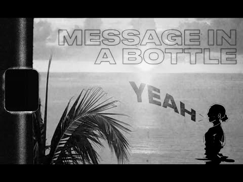 Message In A Bottle (Lyric Video) - & Sting