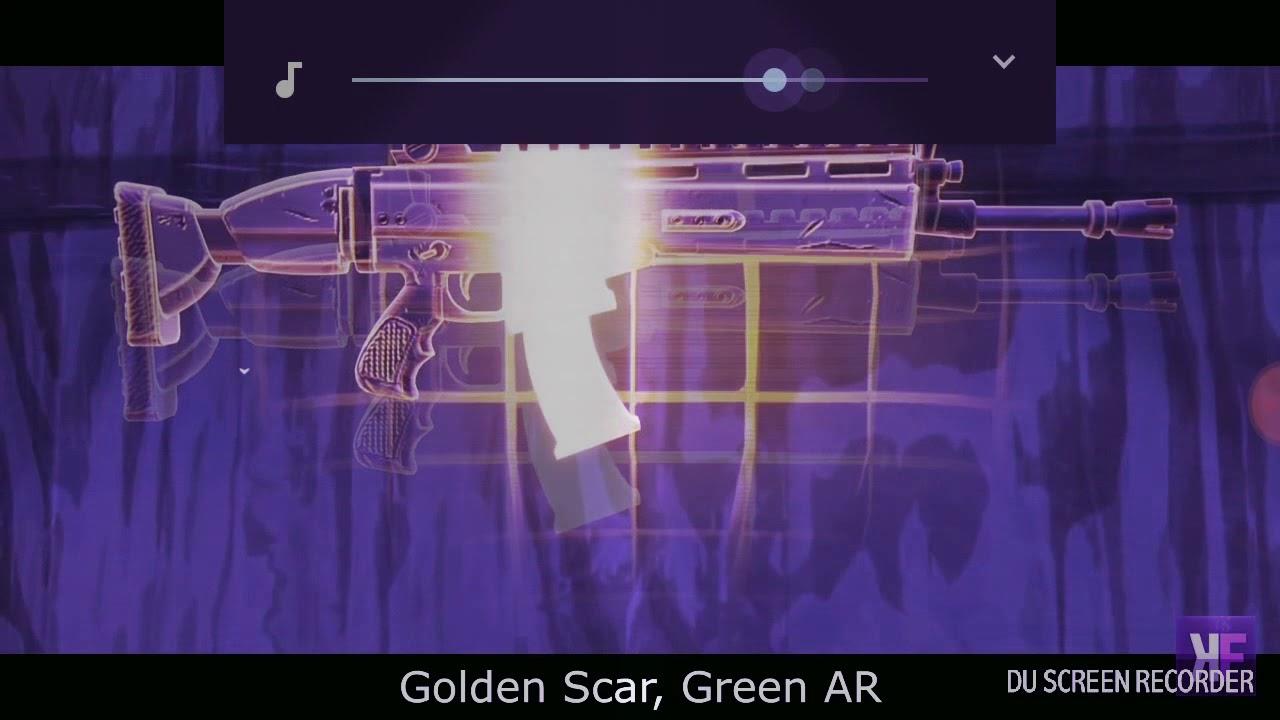 moonlight xxxtentacion fortnite remix parody - fortnite golden scar green ar
