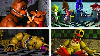 FNAF SFM Old Memories Season 1 Episodes 1 6 Five Nights At Freddys Animation