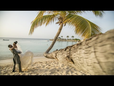 Wedding videgrapher at the Blue Waters Resort, Antigua & Barbuda