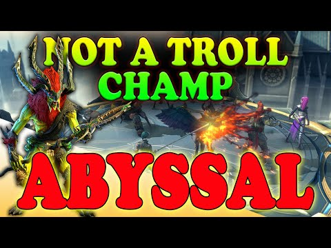 Abyssal - Solid Early Game Champion for Faction Wars   Raid Shadow Legends