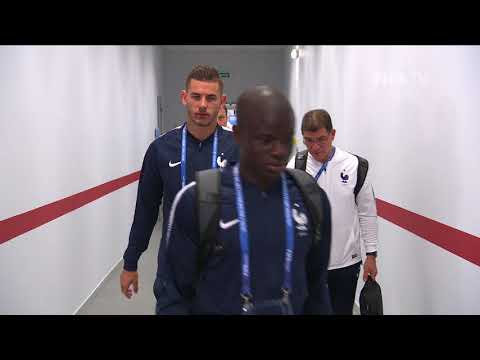 FRANCE ARRIVE - MATCH 5 @ 2018 FIFA World Cup™