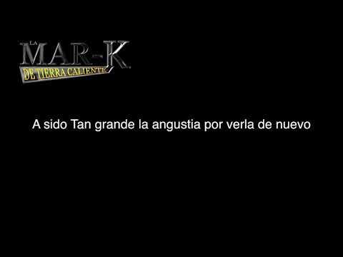 Karaoke LAGRIMAS DEL CORAZON    La Mark de tierra caliente