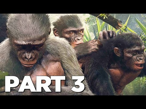 ANCESTORS THE HUMANKIND ODYSSEY Walkthrough Gameplay Part 3 - GENERATION (FULL GAME)