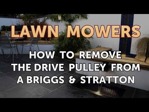 How to Remove the Drive Pulley From a Briggs & Stratton