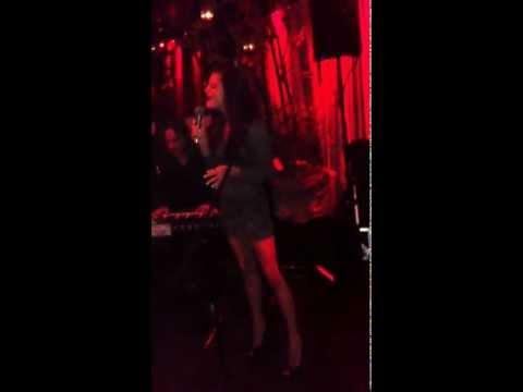 Nikki Bobbitt singing original song